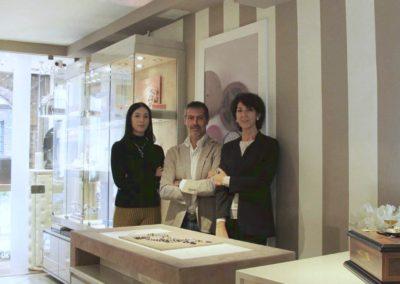 Lo staff dello Showroom Sbalzer di Brescia