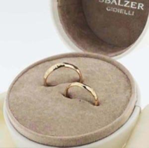 Fedi Nuziali Sbalzer Collection