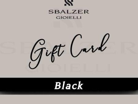 Gift Card Black