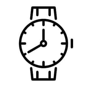 Logo Concept Orologio Segnaposto